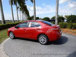 2018 new toyota corolla le cvt at royal palm toyota serving