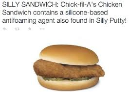 Chick Fil A Meme - fact check chick fil a sandwiches contain silly putty