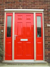 Unique Front Doors Tremendous Images Of Front Doors With Red Wooden Doors Combined