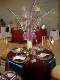 fresh table decoration ideas wedding simple light of dining room