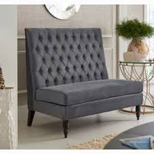 Armless Settee Dining Settees Shop The Best Deals For Nov 2017 Overstock Com
