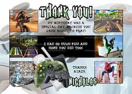diy video gaming invitation choose games video gamer party invite