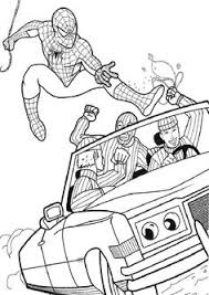 spiderman coloring pages games coloring pages
