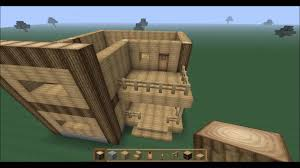 2 Story Houses Minecraft 2 Story Spacious Wooden House Tutorial Youtube