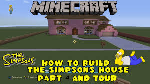 Simpsons Floor Plan Minecraft How To Build The Simpsons House Part 4 Final Steps