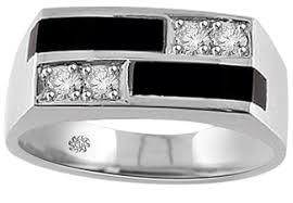 onyx wedding band 20 carat diamond black onyx wedding band