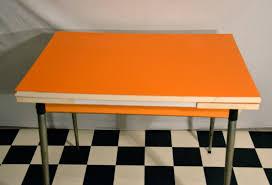 Table Pliante Formica by Table En Formica Orange Bindies