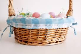wicker easter baskets easter basket liner tutorial