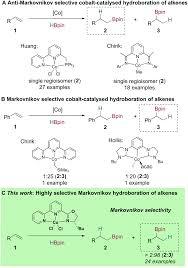 Cobalt B by Cobalt Catalysed Markovnikov Selective Hydroboration Of