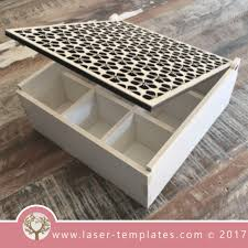 laser cut wooden boxes template collection u2013 laser ready templates