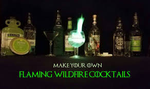 how to make 4 flaming u0027wildfire u0027 cocktails inspired by game of