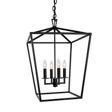 Lantern Pendant Light Fixture Black Lantern Pendant Light