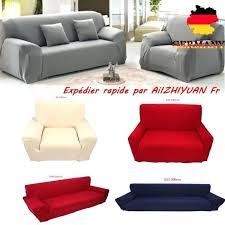 housse de canapé 1 place housse de canape 1 place gris canapac spandex polyester lycra 4 sofa