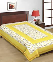 Cheap Single Bed Mattress India Uniqchoice Jaipuri Traditional Print Cotton Three Single Bed Sheet