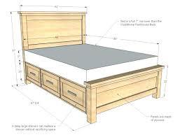 king bed frame no box spring full image for bed frame for box