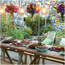 Backyard Engagement Party Decorations by Backyards Impressive Decoratin Ideas Outdoor Bbq Party