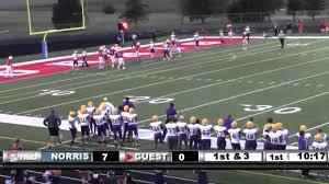 norris high football vs nebraska city 9 30 2016 norris
