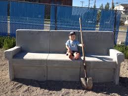 cool concrete couches langevinschoolyard