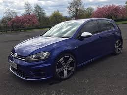 volkswagen golf r tsi dsg my 65 lapiz blue 5dr genuine low mileage