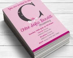 pink invitations etsy