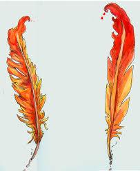 phoniex feather designs by intrepidthrough on deviantart