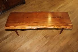 Yew Side Table Of Ludlow Yew Plank Coffee Table With Waney Edge