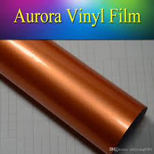 2017 1 52x20m5x65ft high gloss glossy metallic car wrap vinyl