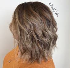 hi and low lights on layered hair shadow root smudge root balayage warm highlights long bob lob