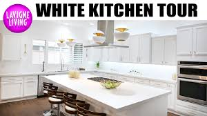 all white kitchen reveal before and after remodel youtube