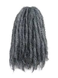 gray marley braid hair cyberloxshop marley braid afro kinky hair 44 gun metal grey