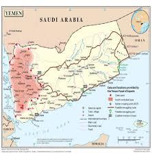 Map Of Yemen Iran U0027s Growing Casualty Count In Yemen