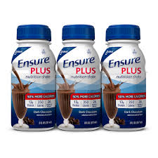 ensure original nutrition shake vanilla with 9 grams of protein