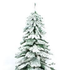Downswept Slim Christmas Tree by Snow Christmas Trees Artificial Christmas Lights Decoration