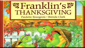 thanksgiving read alouds franklin u0027s thanksgiving read aloud holiday time video dailymotion