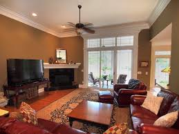 Tommy Bahama Ceiling Fans by Traditional Family Room With Ceiling Fan U0026 Crown Molding In