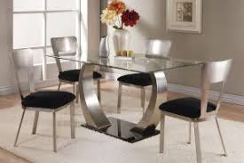glass dining room table sets awesome glass dining room sets gallery liltigertoo