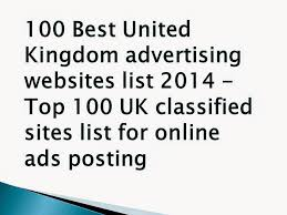 Best Sites To Post Resume by Top 100 Uk Classified Sites List 2017 Best 25 Free United