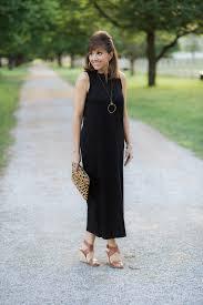 black maxi dress denim jacket grace u0026 beauty