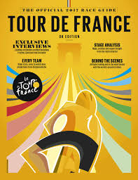 Tour De France Route Map by Official 2017 Tour De France Race Guide Sampler By Immediate Media