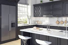 grey kitchen cabinets and black countertops 5 kitchen cabinet colors that are big in 2019 3 that aren
