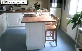 construire ilot central cuisine fabriquer ilot central cuisine pas cher meuble central cuisine
