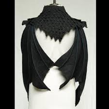 dragon wings bat wings black wings detachable wings