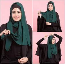 tutorial hijab syar i ala risty tagor tutorial hijab layering simple ala risty tagor miulan store