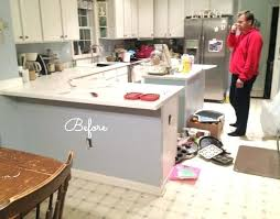 how to demo kitchen cabinets removing kitchen cabinet kitchen before removing peninsula