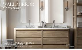 Bathroom Cabinets Restoration Hardware Interior Design by Remarkable Restoration Hardware Bath Mirrors 23 In Home Pictures