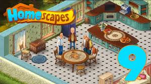 interior home scapes homescapes walkthrough part 9 gameplay antique