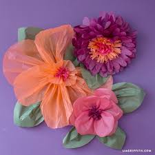 tissue paper flowers jumbo tissue paper flowers lia griffith