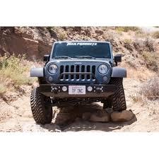 length of jeep wrangler 4 door wrangler jk mid length front bumper rock series fits 2007