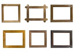 natural wood picture frames frames from natural wood on a white
