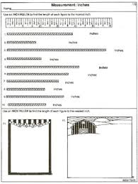 measurement read a ruler 20 printable worksheets by wilbert